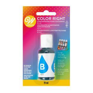Color Right Food Colouring - Azul -...