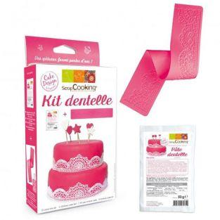 Kit dentelles comestibles
