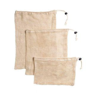 Reusable mesh bag for bulk purchase x 3