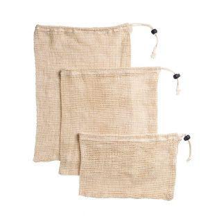 Reusable mesh bag for bulk purchase x 3