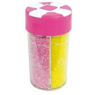 Boîte de sucres décoratifs paillettes