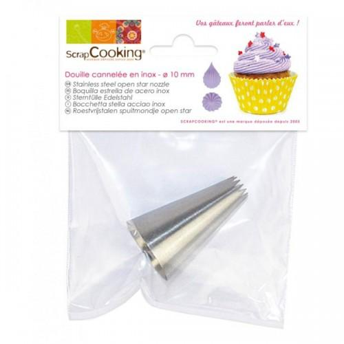 Open star Nozzle 2 - stainless steel