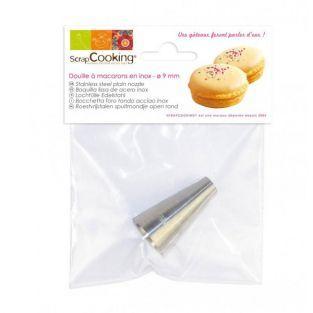 Douille pâtisserie inox - Macarons