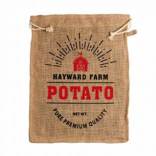 Hayward Farm potato bag.