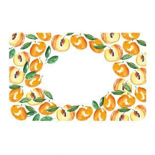 100 Etiketten für Konfitüren - Aprikosen