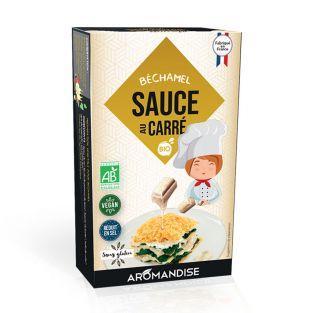 Squared sauce - Béchamel