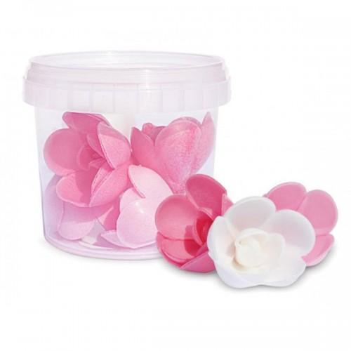Hojas de oblea - 6 rosas