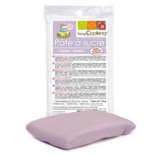 Pasta de azúcar púrpura 100 g
