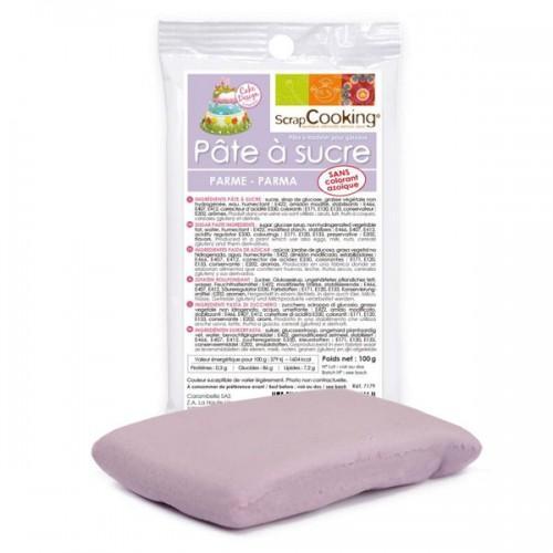 Purple sugarpaste - 100g