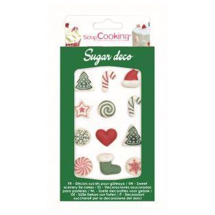 Decorazioni di zucchero - Dolce Natale