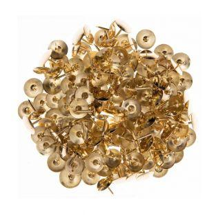 150 thumbtacks - Gold