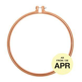 Stickerei-Ring - Senf - ø 22,8 cm