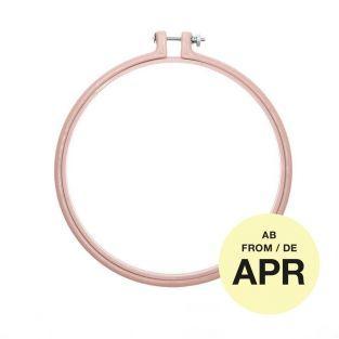 Stickerei-Ring - Puderrosa - ø 17,8 cm