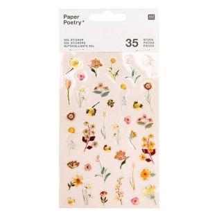 35 Gel-Aufkleber - Vive la Nature - Rose