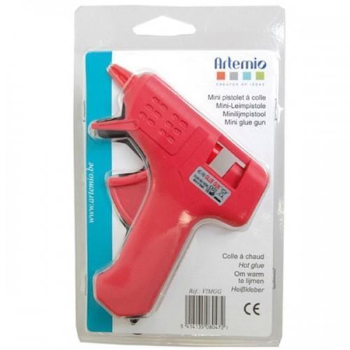 Mini pistola de pegamento