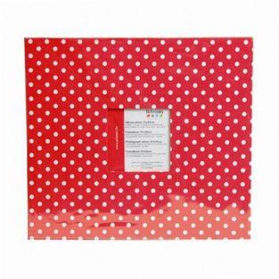 Photo album 30 x 30 cm - Red with...