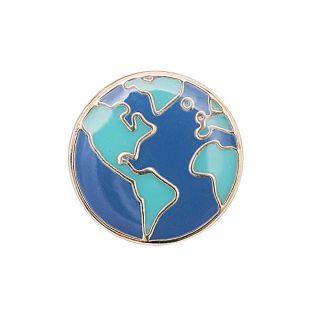 Pins - Globe