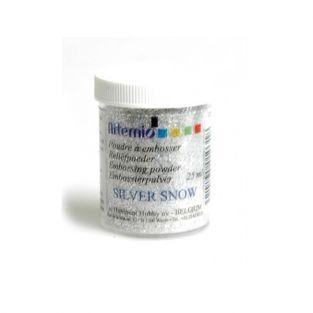 Clear embossing powder with...