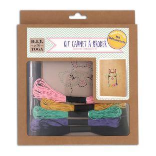 Kit de cuaderno de bordado - Lama