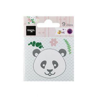 Stanzform - Panda