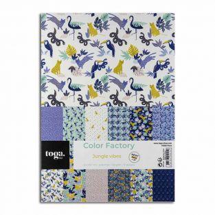 36 scrapbooking sheets - Tropical...