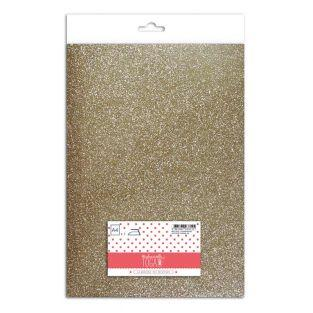 Iron-on glitter flex - Champagne - 30...