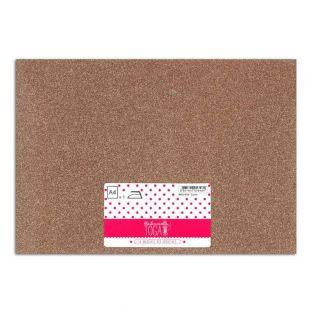 Iron-on glitter flex - Copper - 30 x...