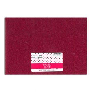 Aufbügel-Glitzer-Flex - Rot - 30 x 21 cm