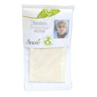 Make-up-Stirnband - 100% Bio-Baumwolle