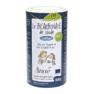 Bicarbonato de sodio cosmético - 500 g