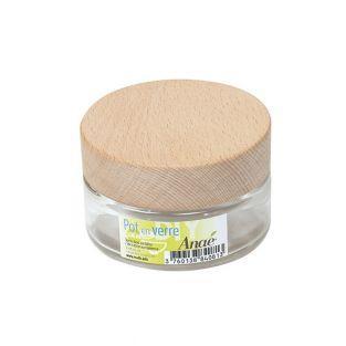 Glasgefäß - Kosmetik - 100 ml