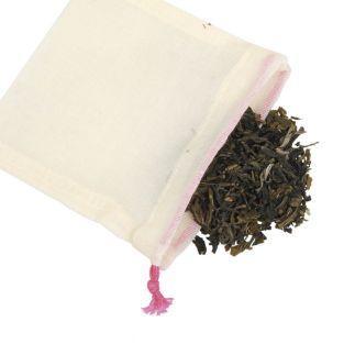 Pack of 5 reusable tea bags