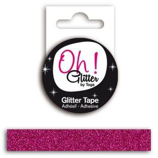 Glitter Band - himbeere