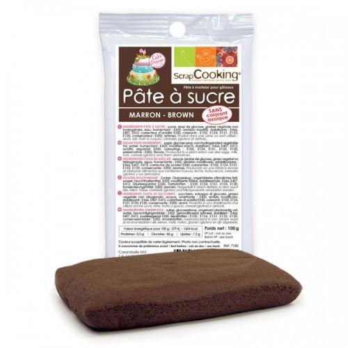 Brown sugarpaste - 100 g