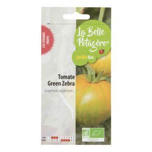 Graines à semer - Tomate Green zebra...