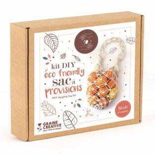 Kit DIY - Sac à provisions en coton -...