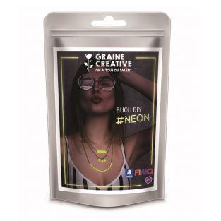 Kit FIMO NEON - Haz tu propio collar...