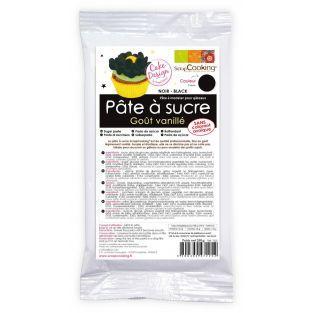 Pâte à sucre noire - 250g