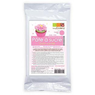 Pink sugarpaste - vanilla...