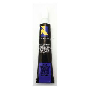 Ring für Glasmalerei - Schwarz - 20 ml