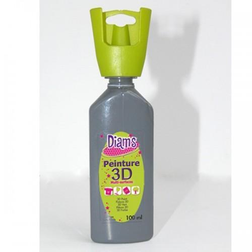 Peinture Diams 3D - Nacrée Gris