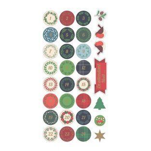 Adesivi Puffies Calendario 3D XL Buon...