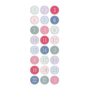 Aufkleber Puffies 3D XL Kalender...