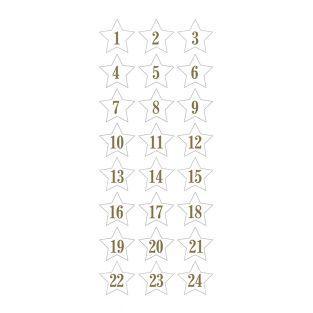 Adesivi Puffies 3D XL Calendario...