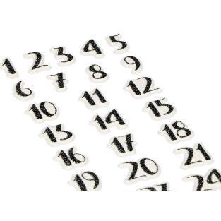 Aufkleber Puffies 3D-Kalender voraus...