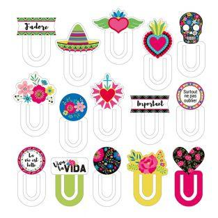 15 marque-pages cartonnés Viva la Vida