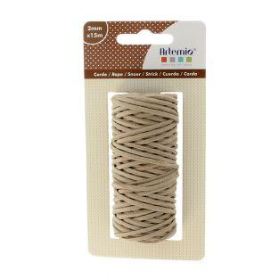 Leather rope 15m