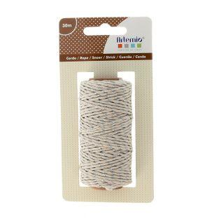 30m silver rope