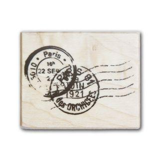 Wooden stamp - postmark