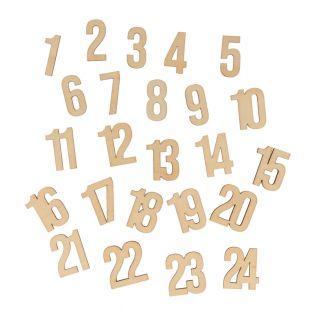 Números Calendario del Adviento